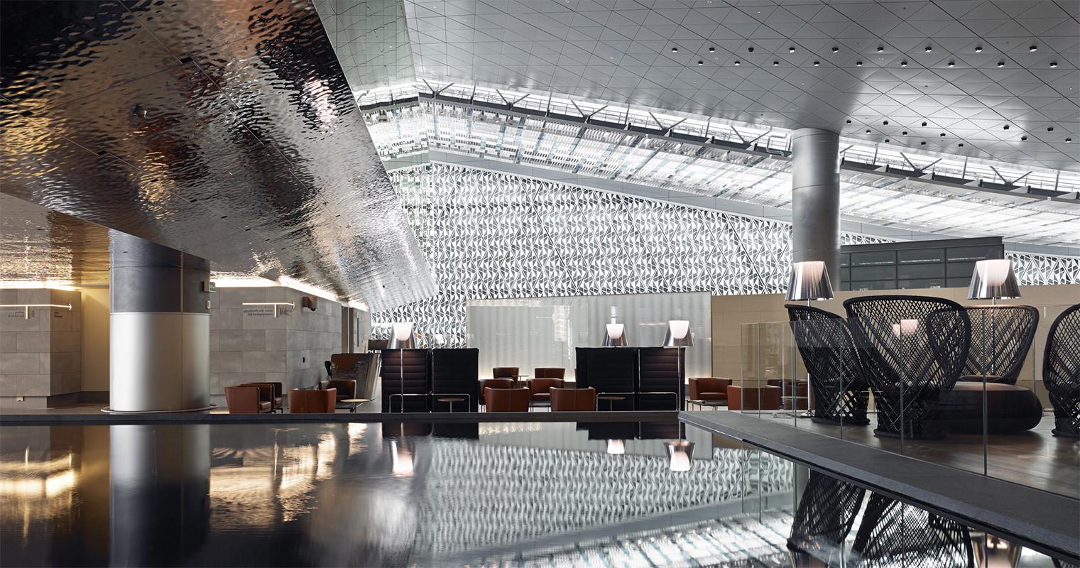 Aeroporto Del Qatar : L eleganza dello stile italiano trasforma il nuovo